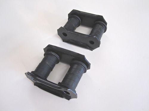 Qty-2-Leaf-Spring-Shackles-Bushings-Front-or-Rear-OEM-Suzuki-Samurai-86-95-302622224096-2
