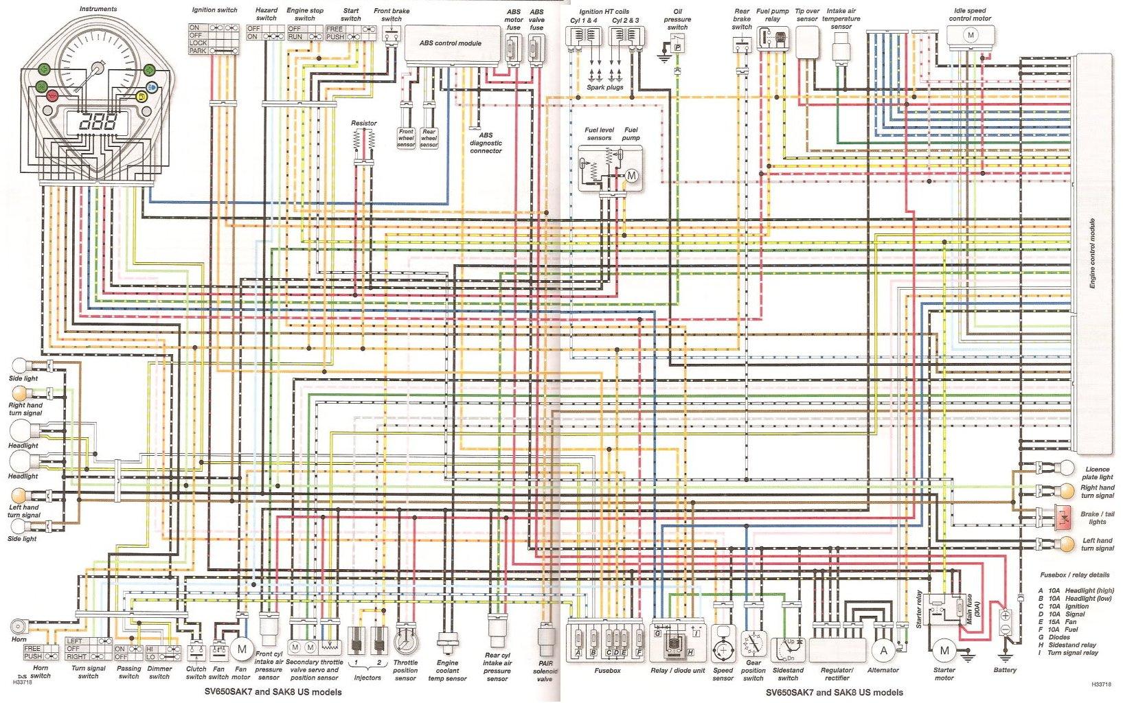 k6 gsxr 600 wiring diagram tecumseh engine wiring color code, Wiring diagram