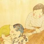 絵本「デミちゃんとおにいちゃん」文芸社