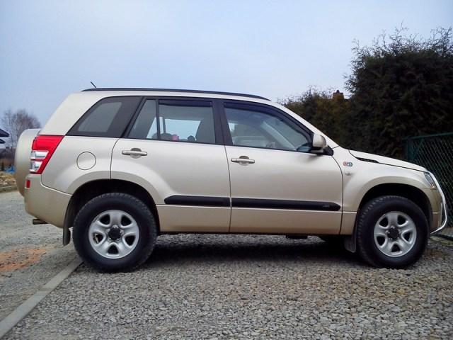 Suzuki Grand Vitara II Bartka – zmotana i wygodna