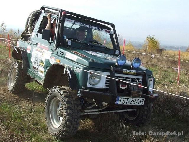 Suzuki 4×4 – przeróżne na Camp4x4