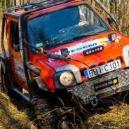 Suzuki Jimny WESEM off-road team