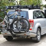 Bagażnik rowerowy na hak – no bo gdzie zmieścić rower w Suzuce ?