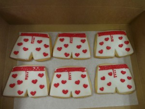 boxer shorts cookies