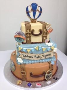 baby shower 3d cake