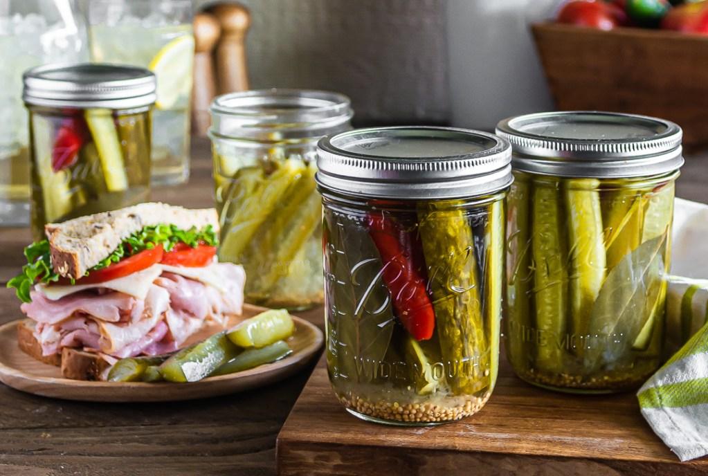 Kosher Dill Pickles Recipe Suzy Eaton Designs