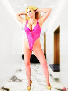 South Florida Escort | Miami-Fort Lauderdale | Sexy Blonde Milf - Pink Lingerie - Discreet Upscale Incall