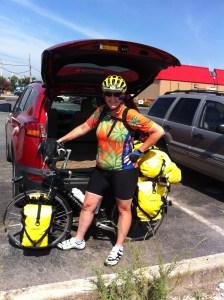 Reba leaving for Corinth, Mississippi.