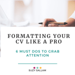 How to capture attention with your CV
