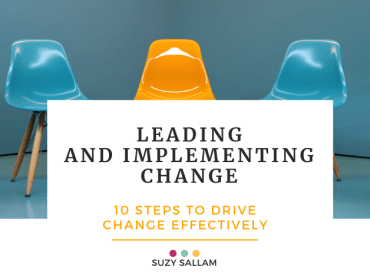 Leading and implementing work - Suzy Sallam COaching