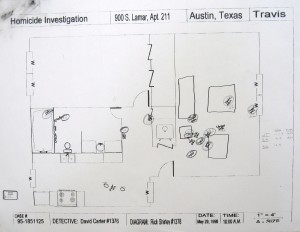 State's Exhibit 38 -- Crime Scene Diagram