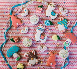 photo of easter cookies