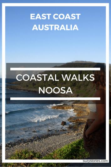 Text overlay of Noosa coastline in Australia