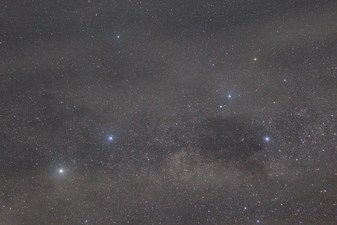 Astrophotography of Alpha Centauri and the Southern Cross: Earth & Sky Stargazing in Lake Tekapo - Mount John Observatory tour