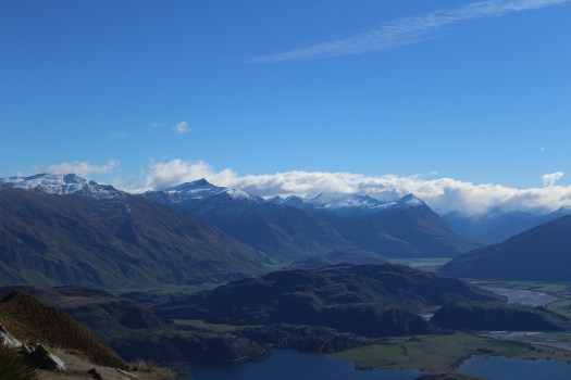 Otago Mountains from Roy's Peak