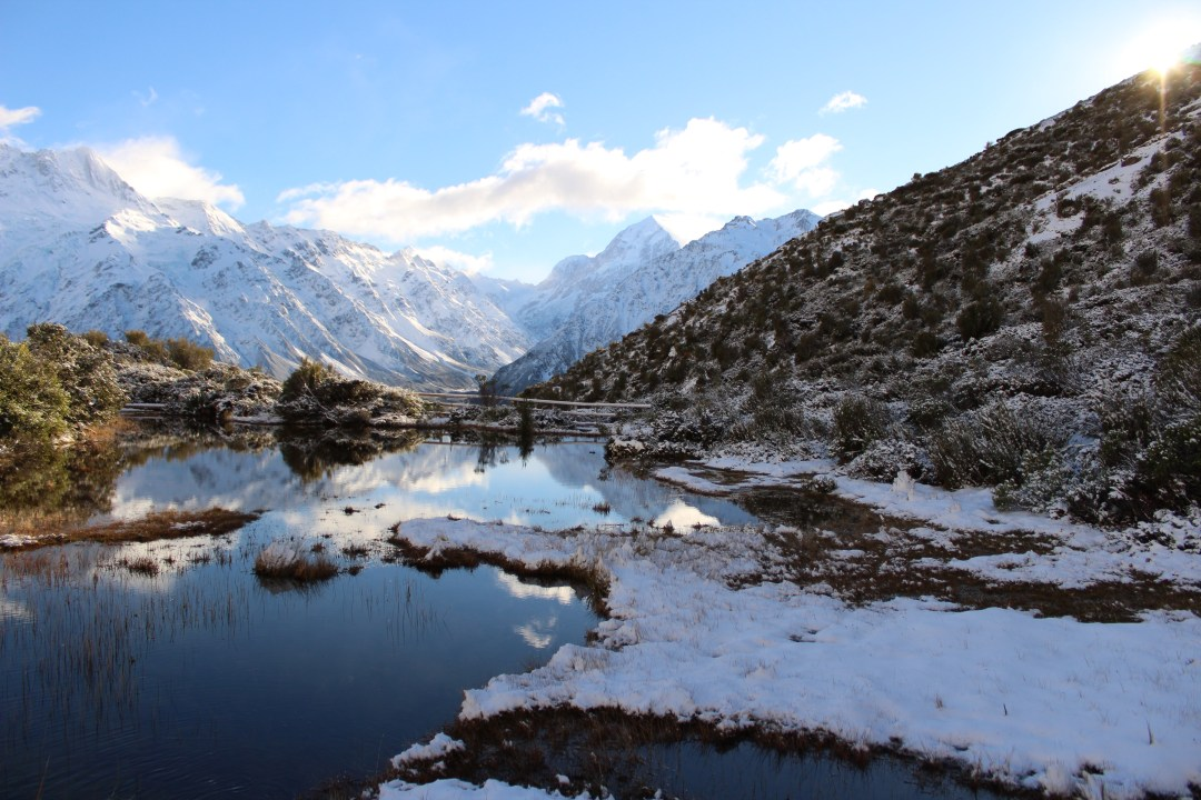 Hiking in New Zealand, Red Tarns Track: Short Walks in Aoraki/Mount Cook National Park - Get the best views of Aoraki/Mount Cook