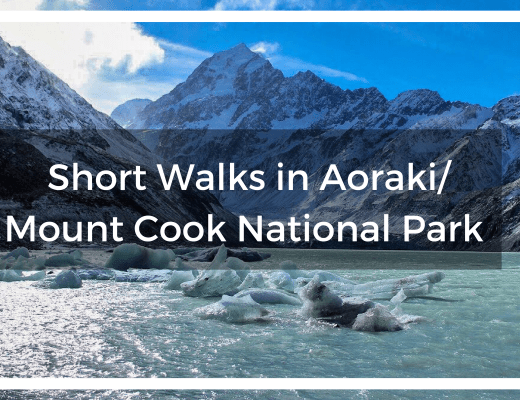 Short Walks in Aoraki/Mount Cook National Park