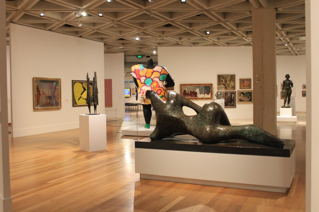 Best things to do in Perth - day trip itinerary. Art exhibition at Art Gallery of WA