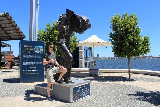 Best things to do in Perth - one day itinerary. Elizabeth Quay history