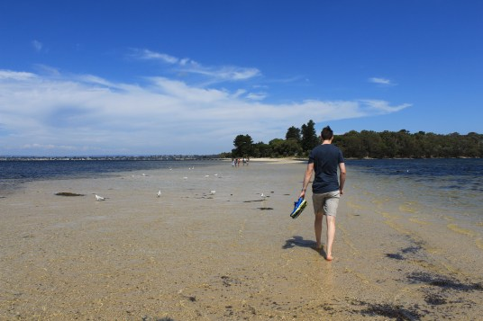 Best things to do in Fremantle - Point Walter sandbar
