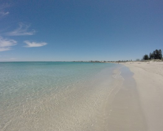 Best things to do in Fremantle - Visit South Beach for crystal clear waters and white sands