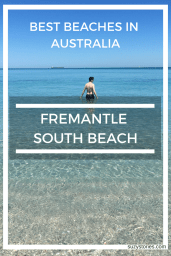 Best things to do in Fremantle Western Australia - Visit South Beach for crystal clear waters and white sands