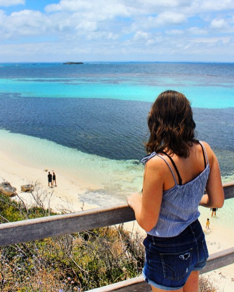 Rottnest Island in Western Australia: Me at 24 - reflections on a year of being 24, thinking about all that was achieved, done, and changed in the past year.