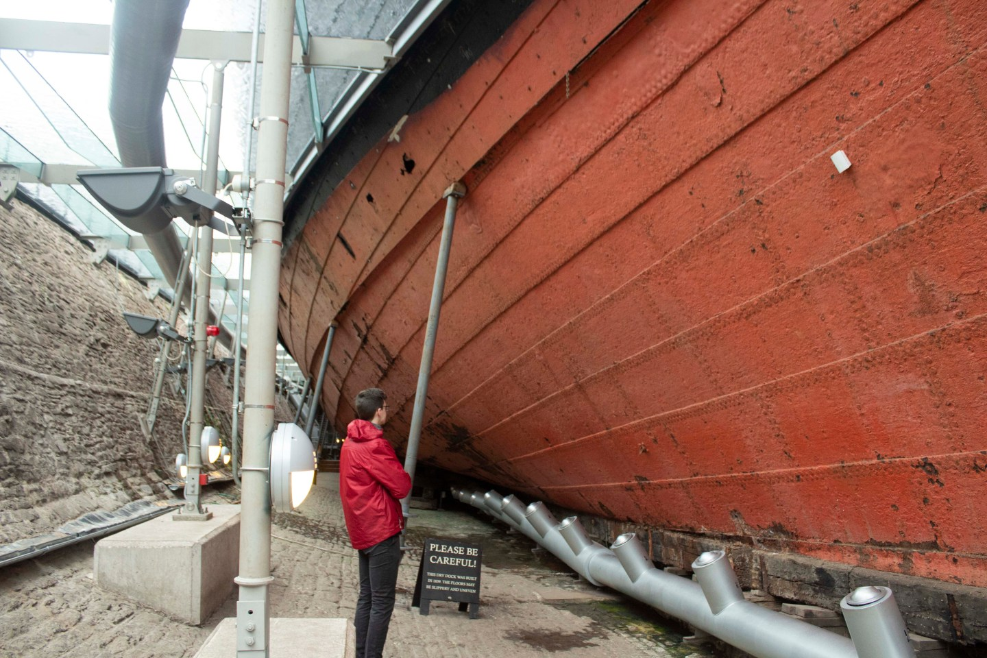 Visit Bristol In One Day Trip - Visit the SS Great Britain in Bristol's harbourside for an immersive taste of history, world exploration, and engineering! Step into the dry dock to see just how enormous the SS Great Britain is.