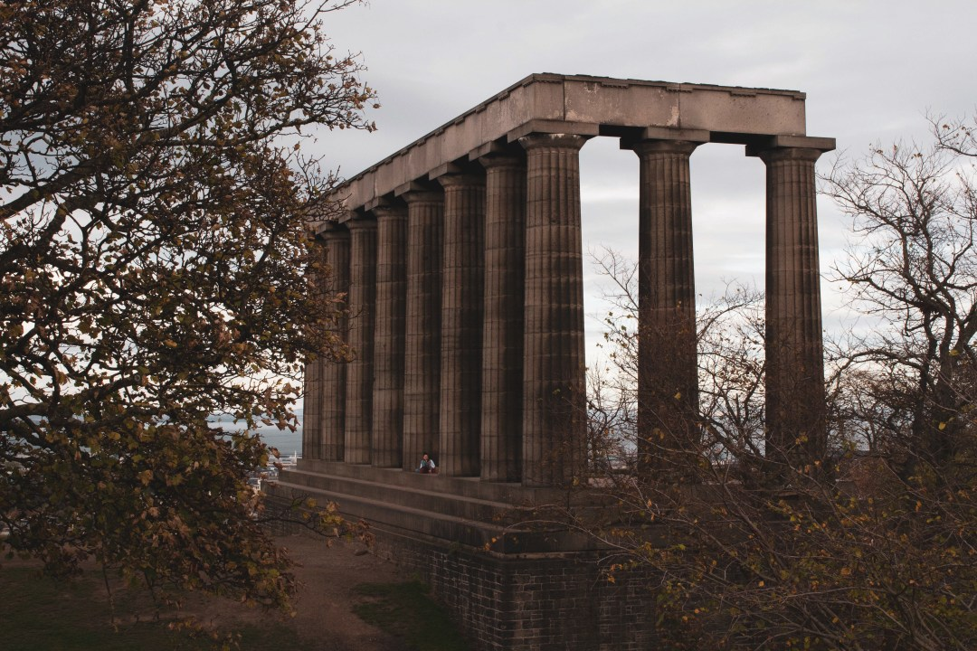 National Monument at Calton Hill Edinburgh
