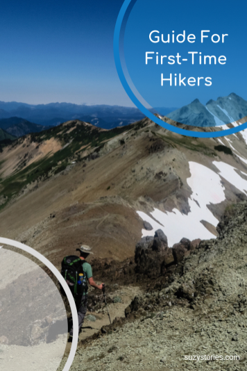 Go from city-slicker to mountain-hiker with this guide for first-time hikers as written by Kathryn Barnes, author of The Unlikeliest Backpacker!