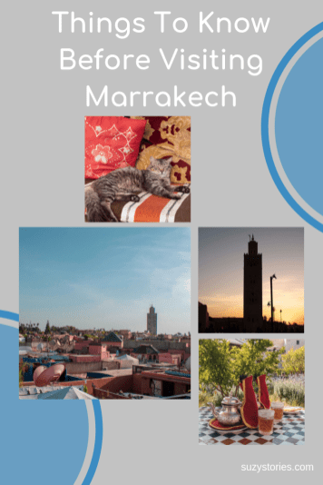 collage of photos in Marrakech