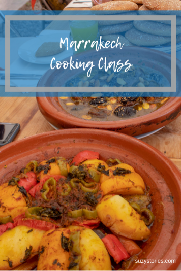 Cooking class in Marrakech to make tagine