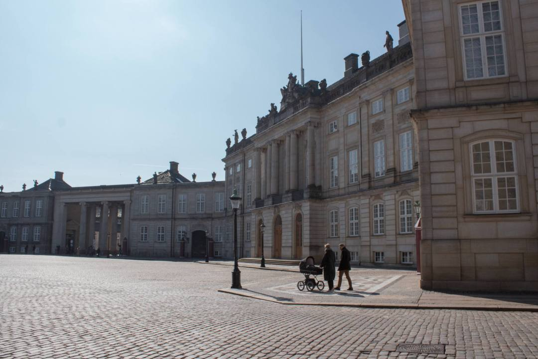 Amalienborg Palace Tower