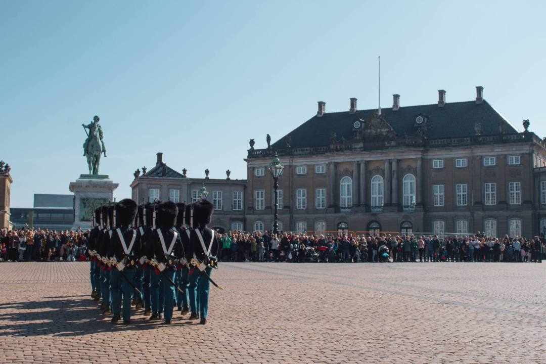 Changing of the guard Copenhagen