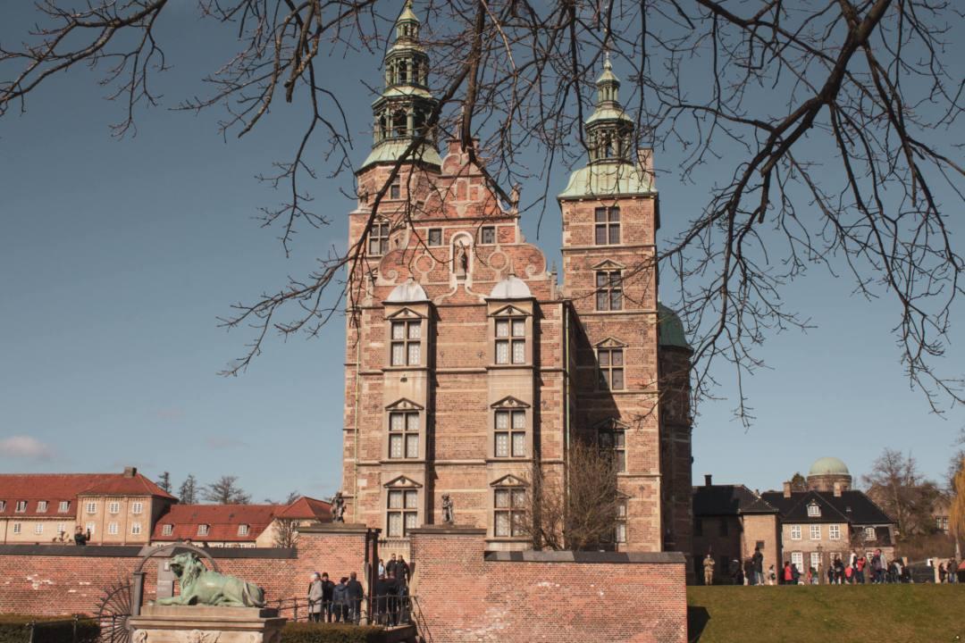 Exterior of Rosenborg Palace Copenhagen