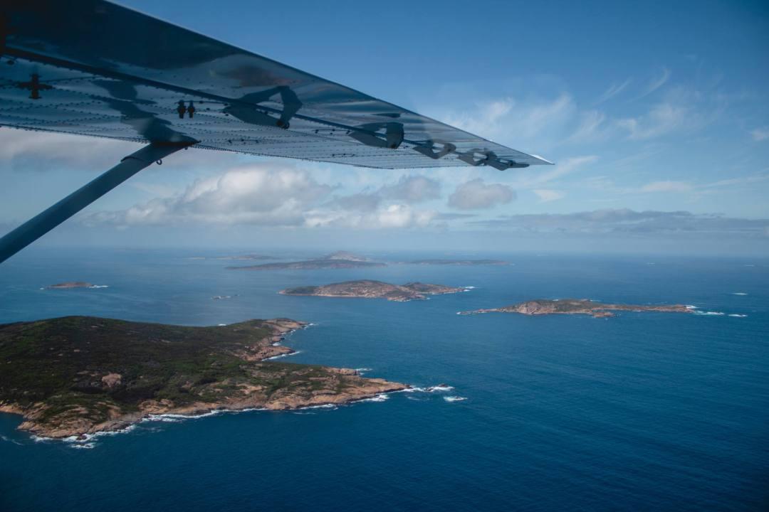 Recherche Archipelago from scenic flight