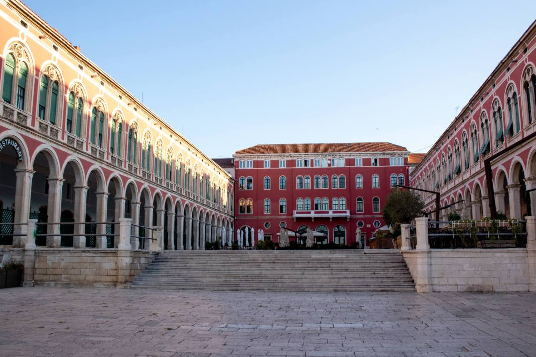 square in split old town
