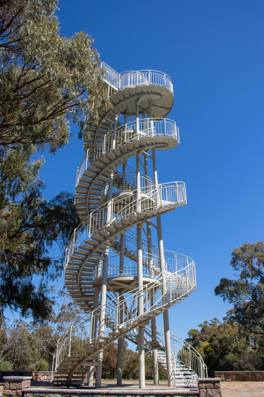 spiral staircases of dna tower kings park