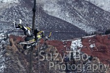 Justin Hoyer Double Grab Aspen X Games 2013