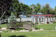 Grand View Cemetery Bridge Pergola