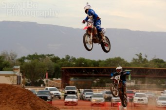 Grand Junction SuperCross Race #277 Casey Rhoten #20 Eric Rhoten Dash for Cash