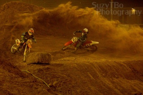 Grand Junction SuperCross Race #144 #543 Berm Roost