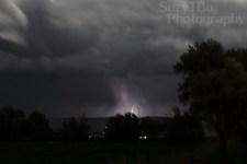 Montrose, Colorado Lightning storm