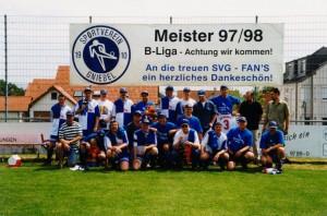Fußball Meister 98 2.Mannschaft
