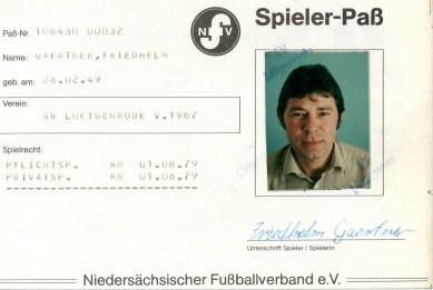 Wolfgang Hinz - Spielerpass_Gaertner_Friedhelm_SVL