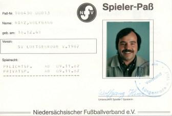 Wolfgang Hinz - Spielerpass_Hinz_Wolfgang_SVL