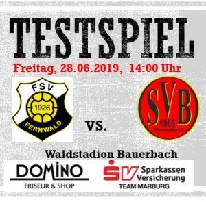 SV Bauerbach - FSV Fernwald @ Waldstadion Bauerbach