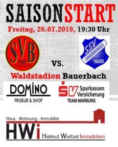 SV Bauerbach - SSV Langenaubach @ Waldstadion Bauerbach