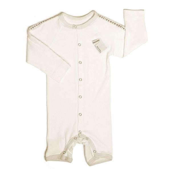 Beibamboo Rompersuit White
