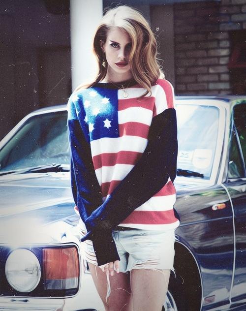Lana del rey - American sweater